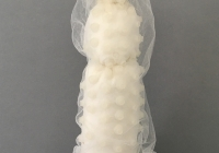 "Are you Saying Yes to the Dress? #2, mixed media object, 13"" x 4"" x 4"""